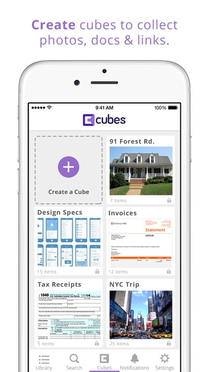 Cubes - Email Organizer