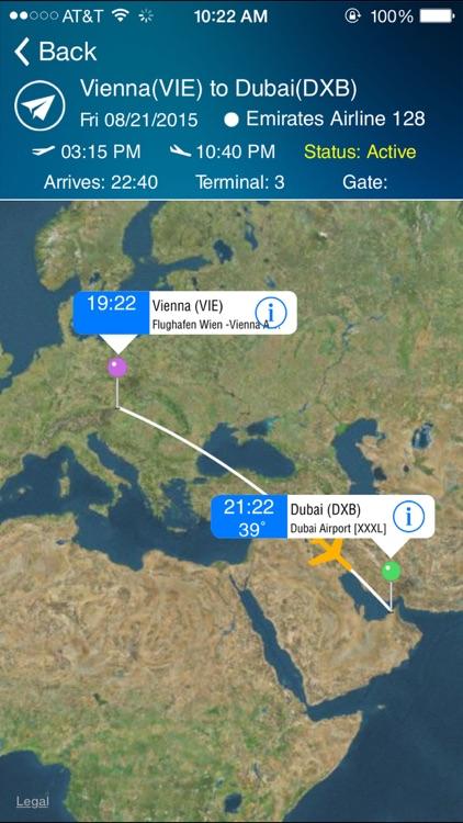 Dubai Airport DXB +Flight Tracker