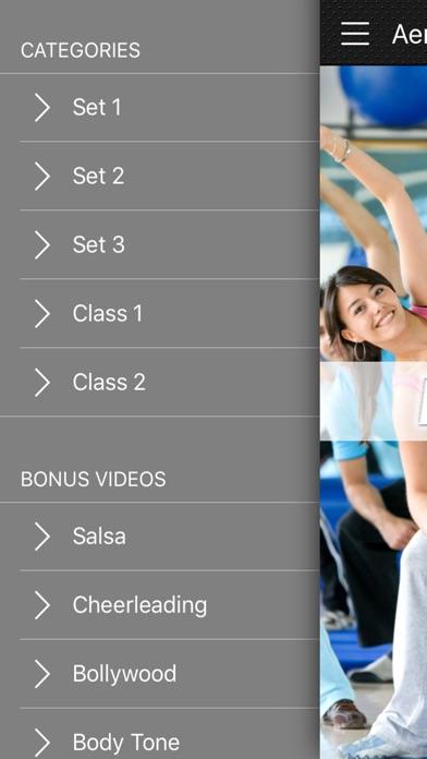エアロビックダンスの練習のスクリーンショット2