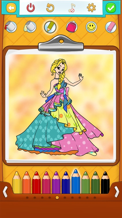 Princess Coloring Book !