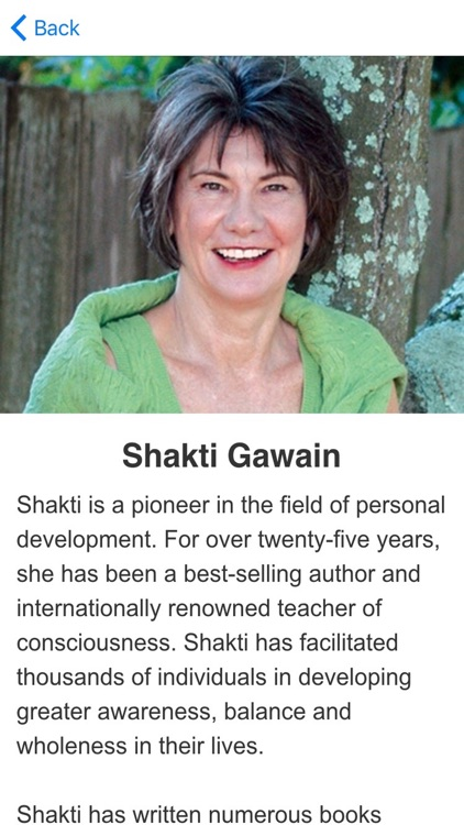 Creative Visualization Meditations by Shakti Gawain