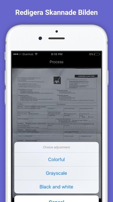 Scanner Pro - PDF Scanner & Skrivare för Dokument, Kvitton, Visitkort på PC