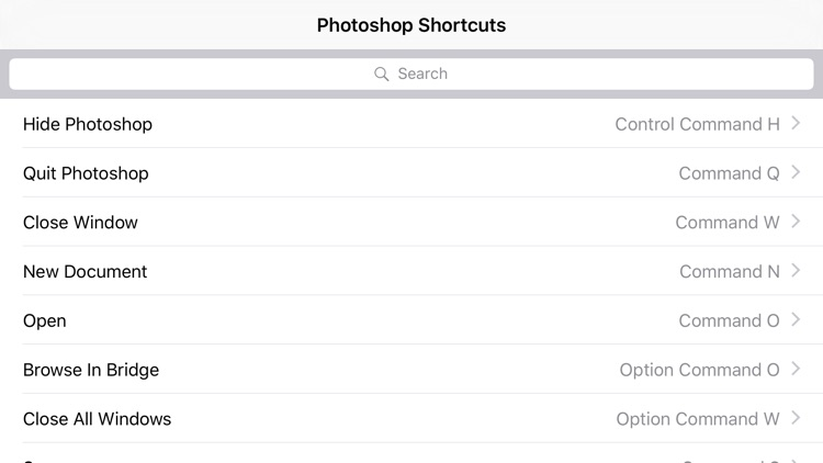 Shortcut: Photoshop Edition screenshot-3