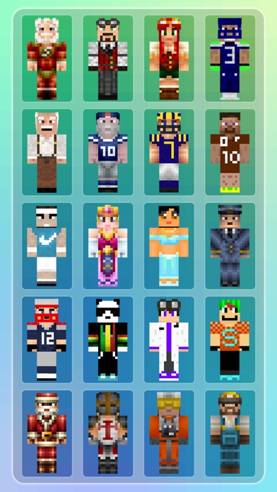 Cape Skins Collection - Pixel Texture Exporter for Minecraft Pocket Edition Lite Screenshot on iOS
