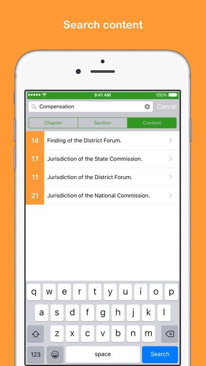 Consumer Protection Act screenshot-3