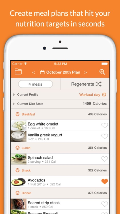 Eat This Much - Meal Planner