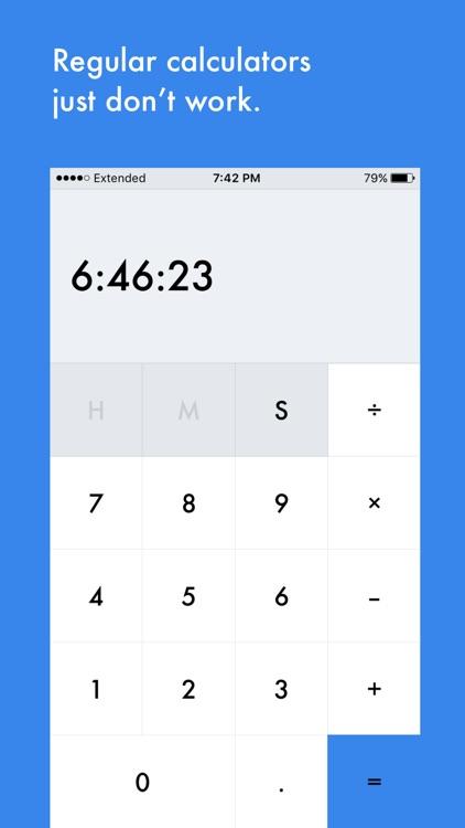 Work Time Calculator
