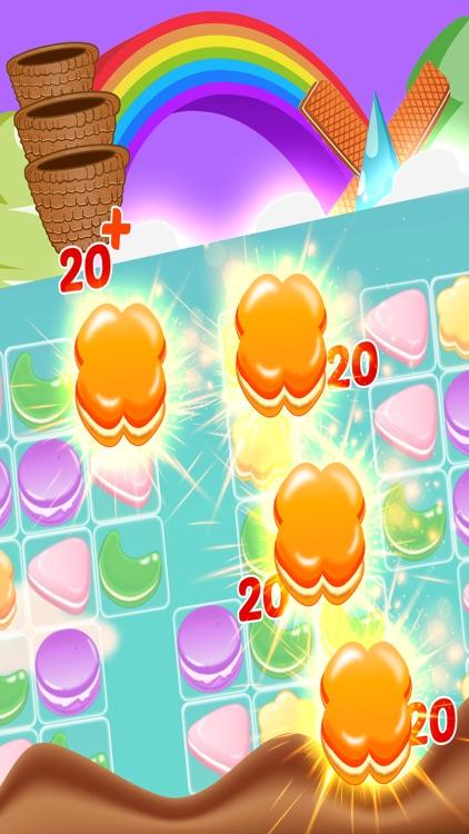 Cookie Match 3 Story - Cookies Smash Jam Sweet jelly Cupcake Puzzle Mania! screenshot-4