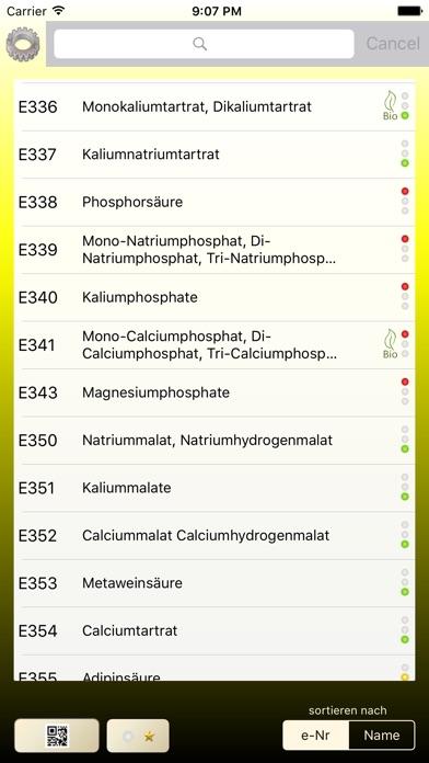 Screenshot for Zusatzstoffe in Germany App Store