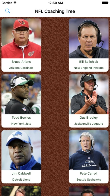 Pro Football Coaching Tree
