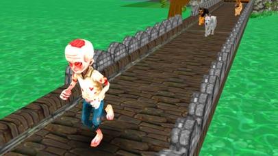 Zombie Evil Rush screenshot one