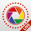 Live Pictures Cam & gif photo maker lite: Share on social media