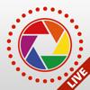 Live Pictures Cam & creador de fotos en gif lite: Compartir en medios sociales