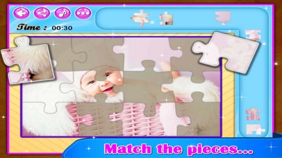 Super Cute Babies - Kids Jigsaw Puzzle screenshot three