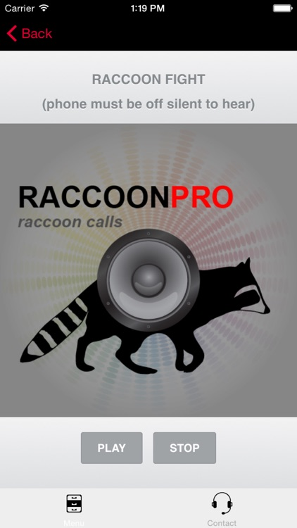 REAL Raccoon Calls and Raccoon Sounds for Raccoon Hunting screenshot-0