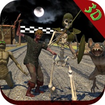 Zombie Racer Monsters Night: A Highway of Death