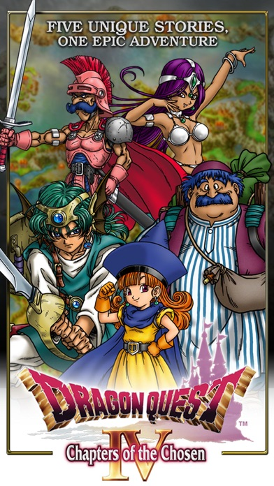 Screenshot #1 pour DRAGON QUEST IV Chapters of the Chosen