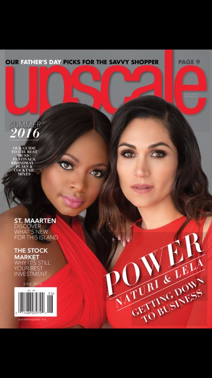 Upscale Magazine screenshot-0