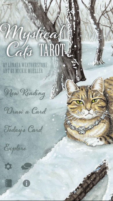 Mystical Cats Tarot-0