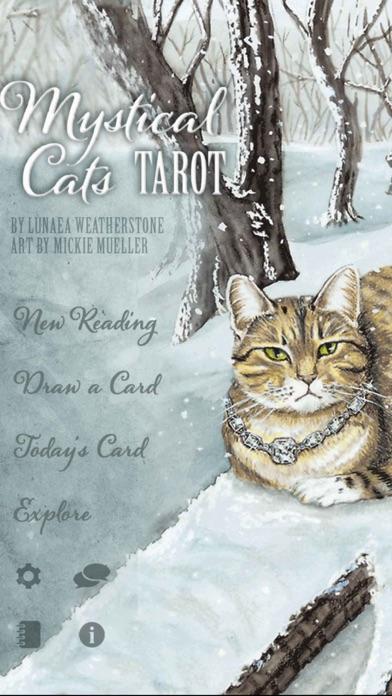 Mystical Cats Tarot-0
