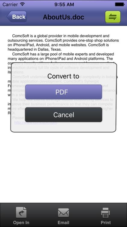 iConverter Pro – PDF, Ringtone Converter screenshot-4