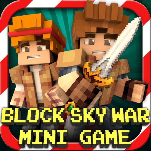 Block Sky War (Luck of the Draw) : Mini Game With Worldwide Multiplayer