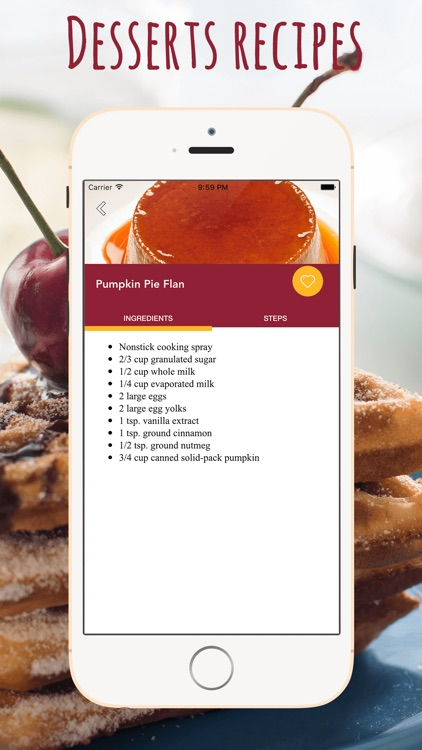 Desserts Recipes Cookbook screenshot-4