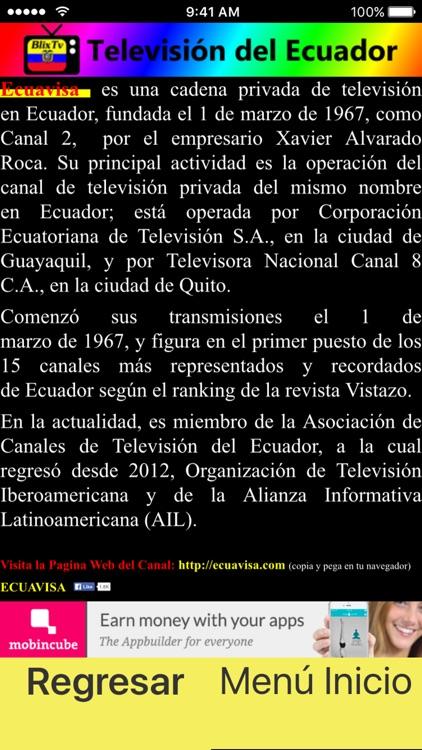 BlixTv - Televisión de Ecuador screenshot-4