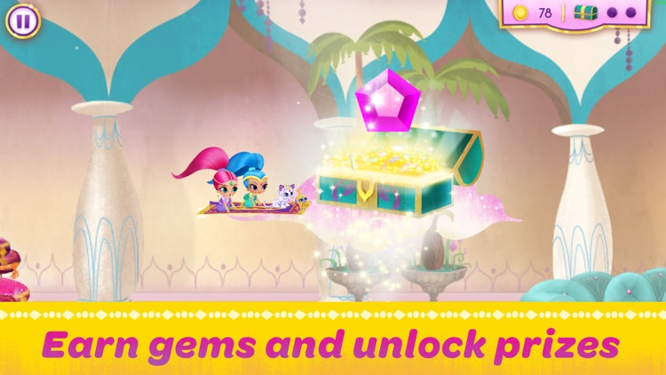 Shimmer and Shine:  Enchanted Carpet Ride Game screenshot-3