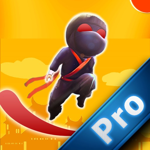 A Strong Ninja Flying PRO - Flick Bouncing