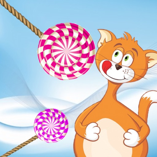 Slice the Candy Swing Cat Nibblers Free Puzzle Games