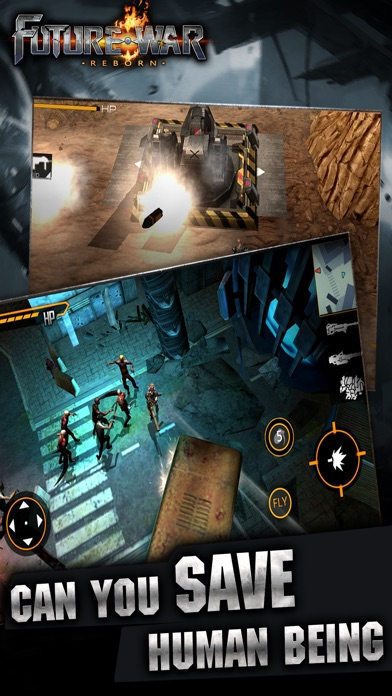 Screenshot for Future War in Hong Kong App Store