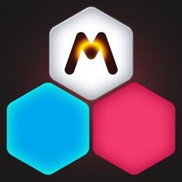 Hexagon Merge - Classic Blocks Bricks Jewel Fit Puzzle 10/10 Merged Game
