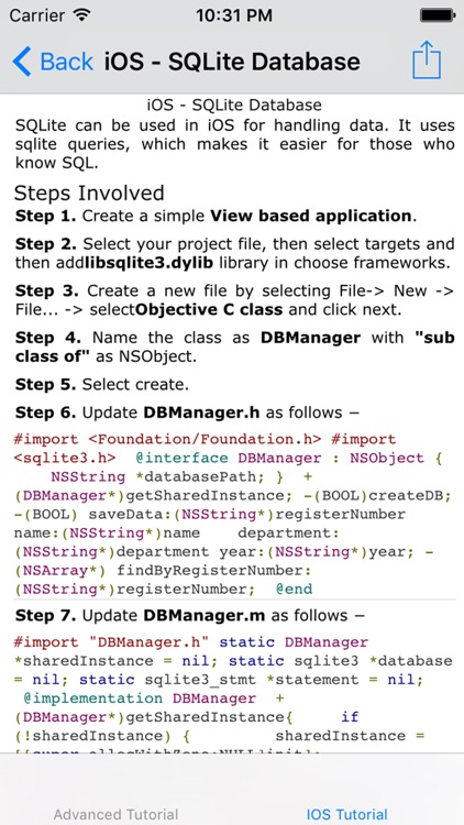 Tutorial for iPhone SDK screenshot-1