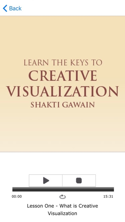 Creative Visualization Meditations by Shakti Gawain screenshot-3