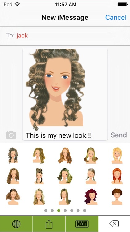 HairMoji - The Best Hair Styles Salon screenshot-1