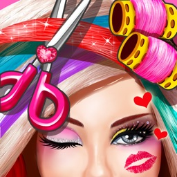 Fashion Doll Hair Salon - Girls Cut & Style Game