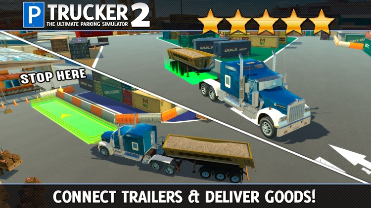 Trucker Parking Simulator 2 a Real Monster Truck & Lorry Driving Test