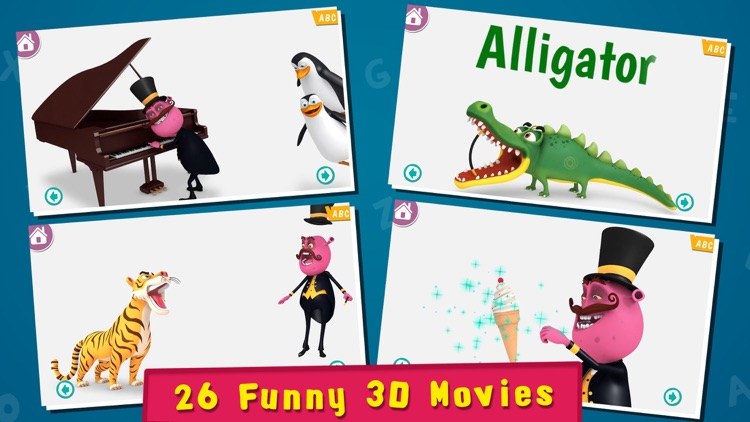 Magical Alphabet - Letters, Phonics, Spellings and ABC Videos for preschoolers and toddlers screenshot-4