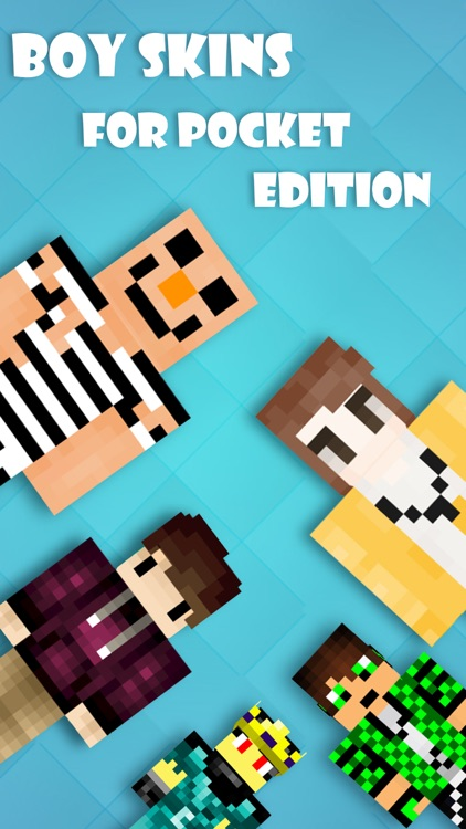 Best Boy Skins Pro - Skin Collection for MineCraft Pocket Edition