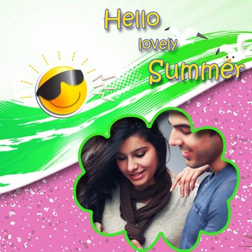 Summer Photo Frames - Instant Frame Maker & Photo Editor iOS App
