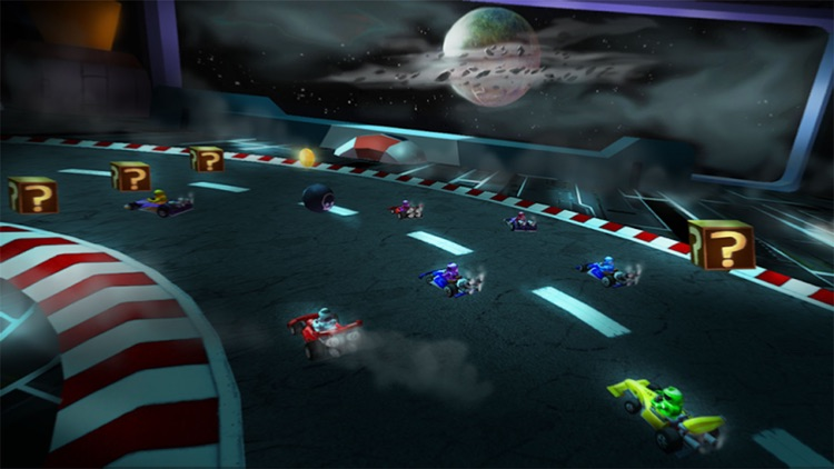 Bomber Kart Racing! screenshot-4