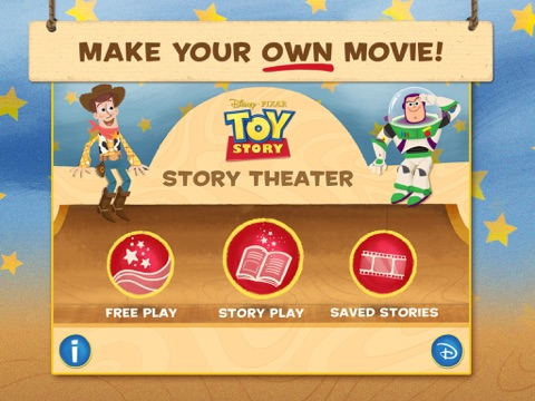 Toy Story: Story Theater Screenshot