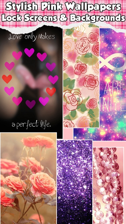 Girly Wallpapers & Cute Pink HD Backgrounds For Lock Screens