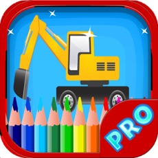 Activities of Construction Vehicles Coloring Book - Vehicles for toddlers and kids
