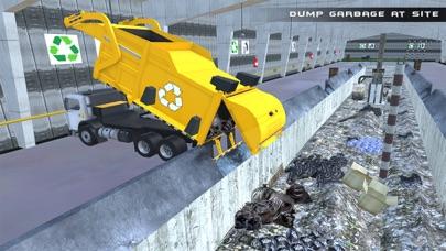 camión de la basura real de vuelo simulador 3D - La conducción de camiones de basura en laCaptura de pantalla de3