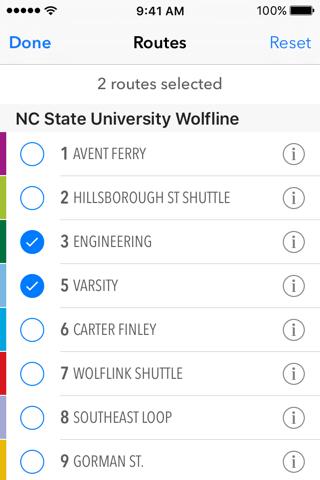 TransLoc Rider: Transit Tracking & Alerts screenshot 3