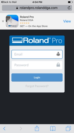 Roland Pro on the App Store