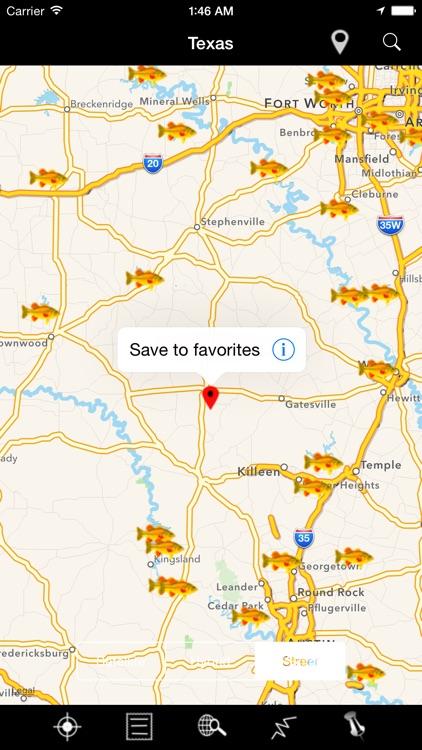 Texas Lakes & Fishes screenshot-4
