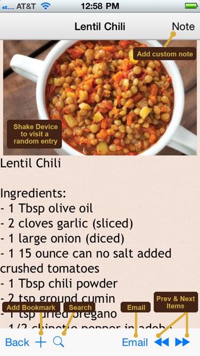 GERD Acid Reflux Diet Recipes Plus+ screenshot one